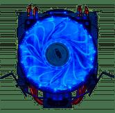 Cooler Dex Universal Game Duplo C/15 Led Vermelho Dex - DX-9115D-V