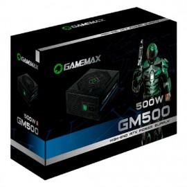 Fonte alimentacao atx gamemax 500w gm500 black 80 plus bronze