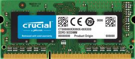 Memória Crucial  8GB DDR3 1600Mhz SODIMM P/MAC e Note  CT8G3S