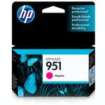 Cartucho de Tinta HP Officejet 951 Magenta CN051AB