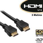 Cabo HDMI 1.4 3D / 4K 3 Metros - Empire