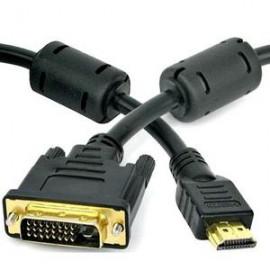 Cabo DVI X HDMI 24+1 5M