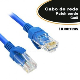 Patch Cord CAT5E com 10 Metros - Empire