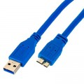 Cabo USB A para Micro B 3.0 Superspeed 5Gbps 50 CM