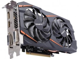 VGA GeForce 3GB GTX 1060 G1 Windforce 2X GDDR5 GV-N1060WF2OC-3GD