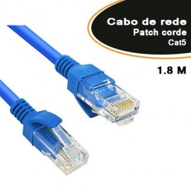 Cabo De Rede Patch cord Cat5 1,8 Metros - Empire