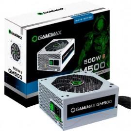 Fonte alimentacao atx gamemax 500w gm500 white 80 plus bronze
