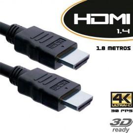Cabo HDMI 1.4 Tv 3D / 4K M/M 1.8 Metros ( cabo de  Lote em perfeito estado )