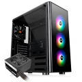 Gabinete Gamer Thermaltake V200 TG ARGB c/Fonte 600W CA-3K8-60
