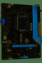 Mother BCP H55 DDR3 USB 2.0 Vga/Hdmi LGA 1156 - BCP-H55KFL Box