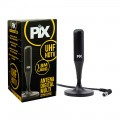 Antena Pix Multi Interna para TV Digital HDTV Plug 90 Graus - 008-9506