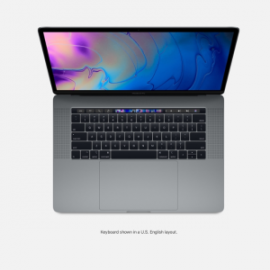 MBP 15 2.2GHZ 16GB 256GB CINZA ESPACIAL RP555X TOUCH BAR E ID I7