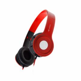 Headset C3 Tech c- Microfone dobrável PH-100RD - VERMELHO