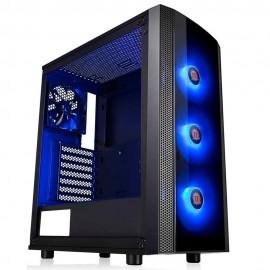 Gabinete Gamer Thermaltake Versa J25 RGB Lat  Vidro CA-1L8-00M1W