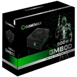 Fonte alimentacao atx gamemax 800w gm800 80 plus bronze