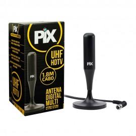 Antena Pix Multi Interna para TV Digital HDTV Plug 90 Graus - 008-950