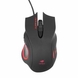 Mouse Gamer C3 Tech MG-110BK BUZZARD USB 3200DPI - PRETO