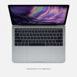 MBP 13 2.3GHZ 8GB 256GB CINZA ESPACIAL TOUCH BAR E ID I5