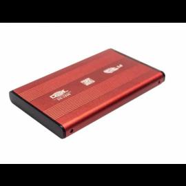 Case Dex p/ HD 2.5´ Notebook USB 3.0 SATA Vermelha - DX-2530