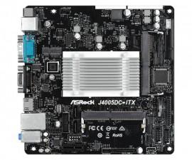 Mother Asrock DJ4005 DDR4 HDMI D-Sub áudio HD 7.1 - J4005DC-ITX