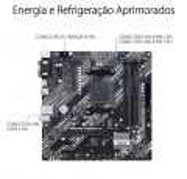 Mother Asus Prime A520M-E/BR AM4 M.2 USB 3.2 Gen 2 Tipo-A